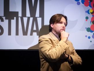 Filip Remunda op het Eastern Neighbours Film Festival. (foto: Iris Uffen)
