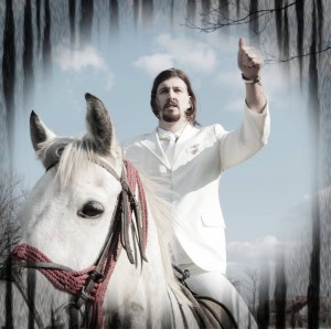 Witte Prins, wit paard. (foto: facebookpagia Ljubiša Preletačević Beli)