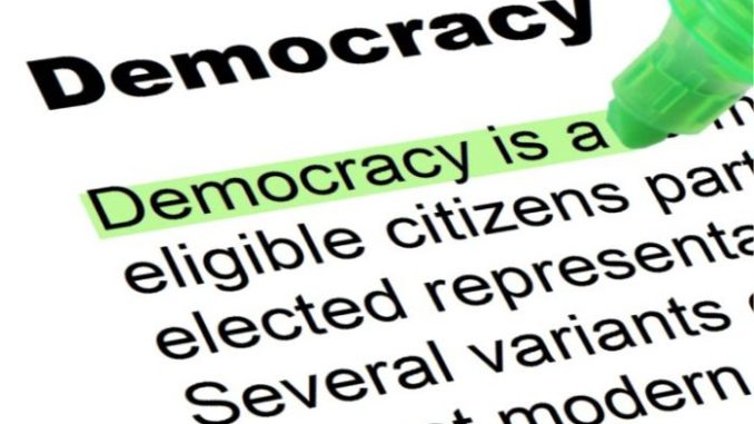 """""""Democracy"""" (IMAGE: CC BY-SA 3.0 Nick Youngson — Alpha Stock Images)"""